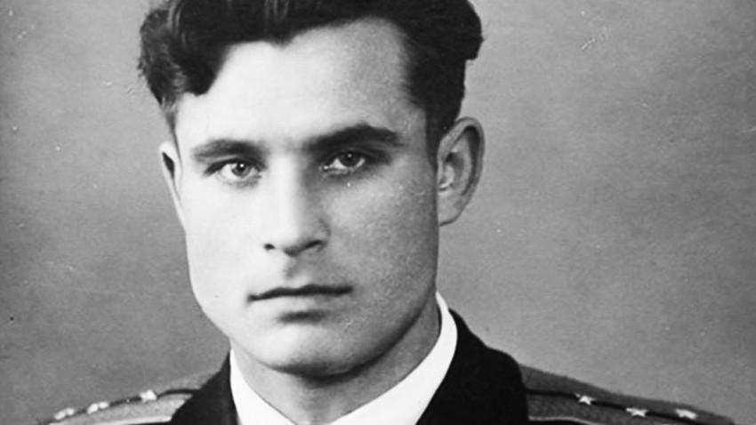 Vasili Arjípov de jóven.